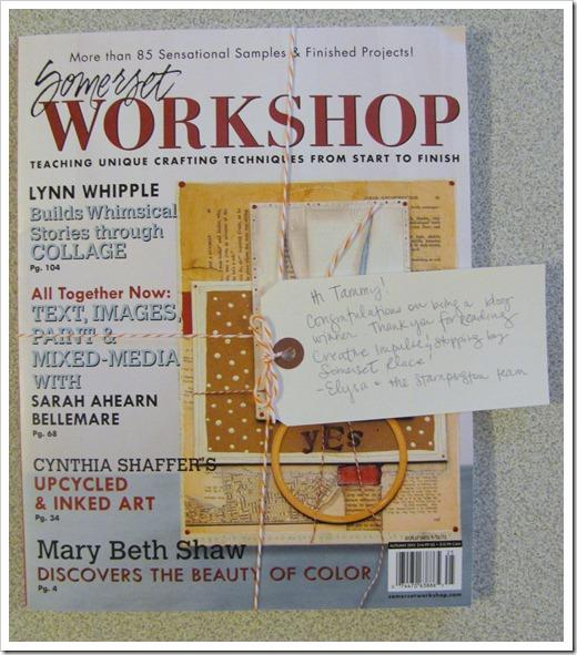 magazine prize
