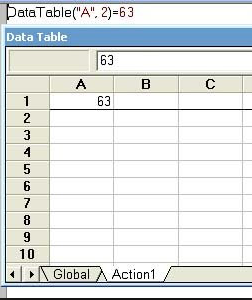 How to use formulas in the Data Table