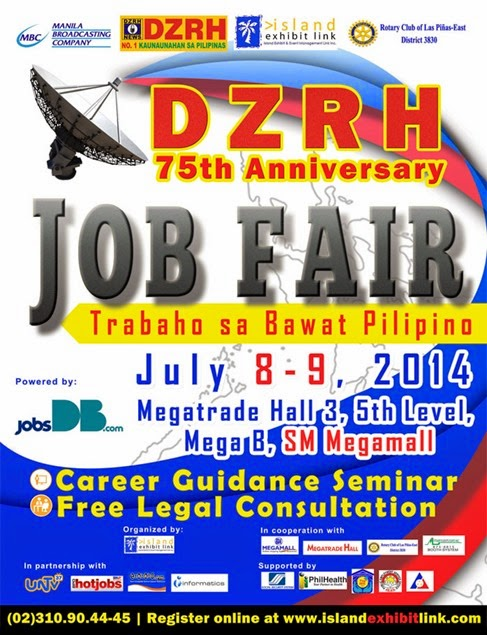 Job Fair July 8-9, 2014 Megamall