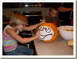 Carving Pumpkins (5) (Medium)