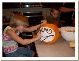 Carving Pumpkins (5) (Medium)