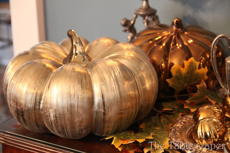Fall Metallic Dining room 012