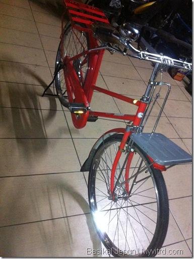 Basikal Tua Dari Jepun 2