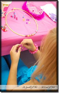 Fancy Nancy Party Crafts {A Sprinkle of This . . . . A Dash of That}