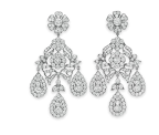 The Mike Todd Diamond Ear Pendants, Gift from Mike Todd, 1957. Estimate: $25,000-$35,000