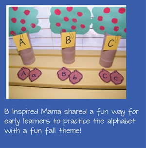 alphabet practice for early learners this fall