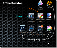 Office Desktop Screen