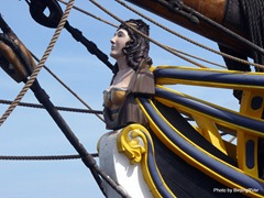 Figure head of the Lady Washington