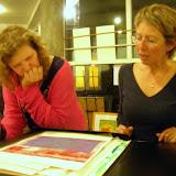 Lene Leveau montre son travail à Maryline