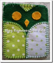 Porta celular de coruja 1