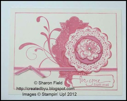 regal rose and very vanilla combo with two stamp sets