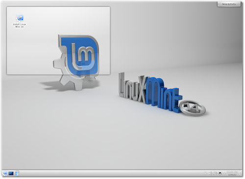 Linux Mint 14 KDE RC