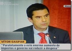 Vitor Gaspar diz - dizia Vitor Gaspar.Out.2012