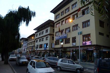 258. centru Thimphu, capitala Bhutan.JPG