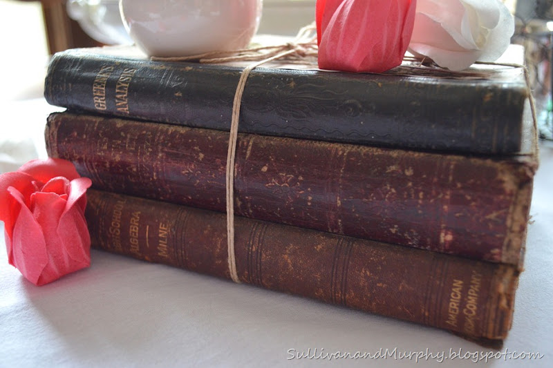 twine tied books
