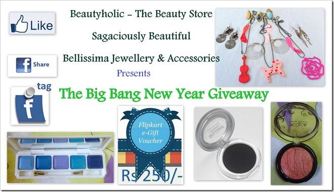 Big Bang Giveaway