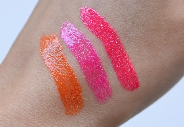 Makeup by One Direction Liquilights Glow Gloss Swatches Review