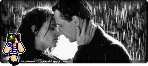 Alec e Dylan na chuva
