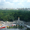 Sky view of Columbus Circle