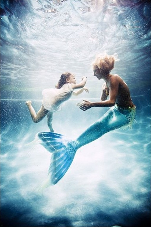 mermaidwithbaby