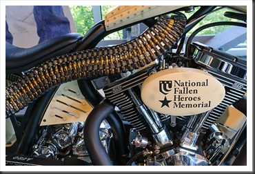Orange County Choppers Fallen Heroes Bike
