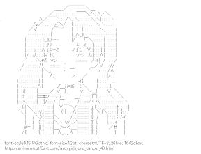 [AA]Kadotani Anzu (Girls und Panzer)
