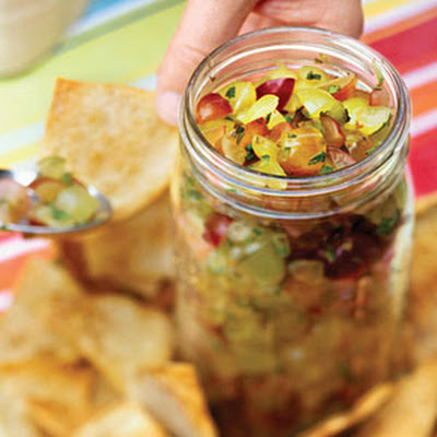 Grape-Mint Salsa