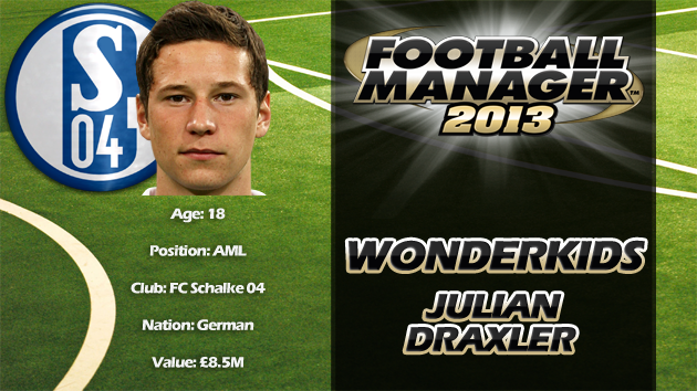 FM13 Wonderkid Review - Julian Draxler