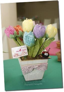 centro mesa cachepo tulipa