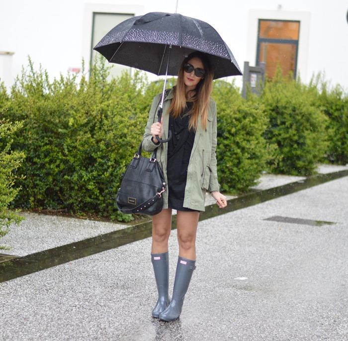 Hunter, Hunter boots, stivali Hunter, Parka, Rifle Parka, Rifle, Parka and Hunter, Givenchy bag, Givenchy Bugatti bag, fashion blogger, italian fashion blogger, Nixon watch, elisa taviti blog, my fantabulous world