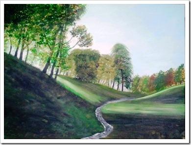 phoenix park painting