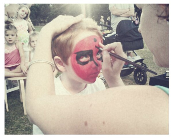 6. face painting
