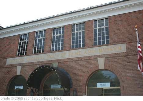 'Baseball Hall of Fame' photo (c) 2008, rachaelvoorhees - license: http://creativecommons.org/licenses/by-sa/2.0/