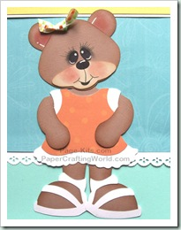 bear in sandals svg 500