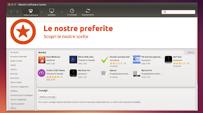 l'attuale Ubuntu Software Center