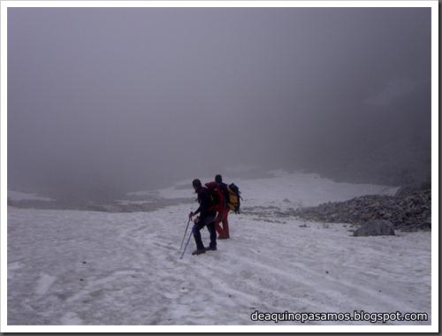 Via Directa de Los Martinez 250m D- V- (Picu Urriellu, Picos de Europa) (Isra) 1214