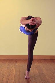 Virabhadrasana 3: Heroic Warrior 3. Harmony, balance and poise are demonstrated when the hero takes action.