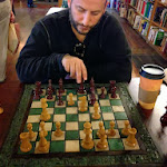 Saugerties - Playing chess with Eric.JPG