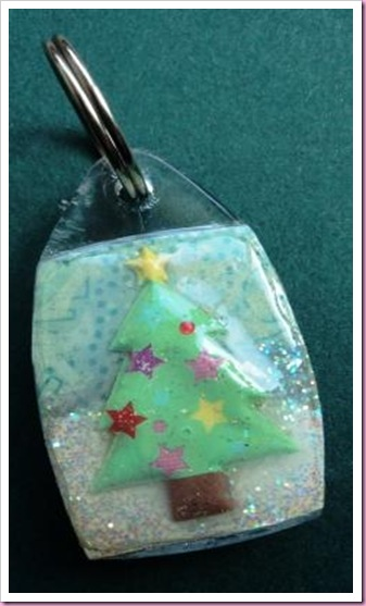 Christmas Tree Keyring