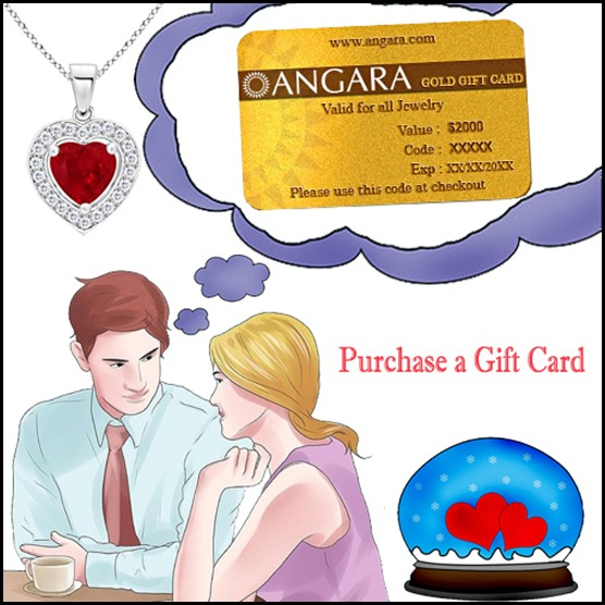 Purchase a Gift Card For This  Valentine's Day