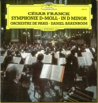 Franck Sinfonia Barenboim DG vinilo