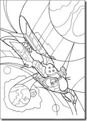 desenhos para colorir do Ben 10 wilgax
