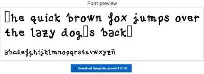 Cómo crear una #tipografía