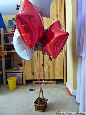 Basket-Balloon