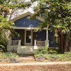 Point A. Little Blue House in the Southern Pines.