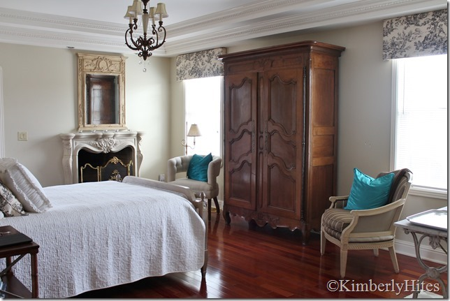 country antiques interiors master bedroom d cor tip move the bed