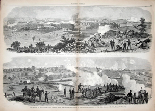 Battle of Gettysburg from Harper's Weekly