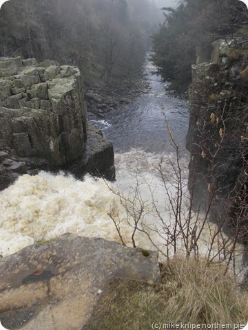 high force from the top