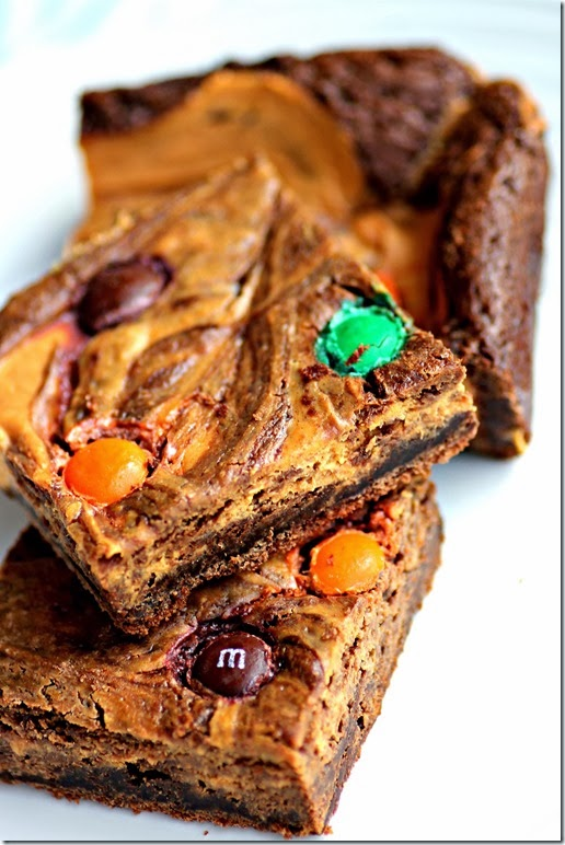 Pumpkin Brownies2