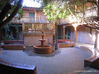 Fountain courtyard